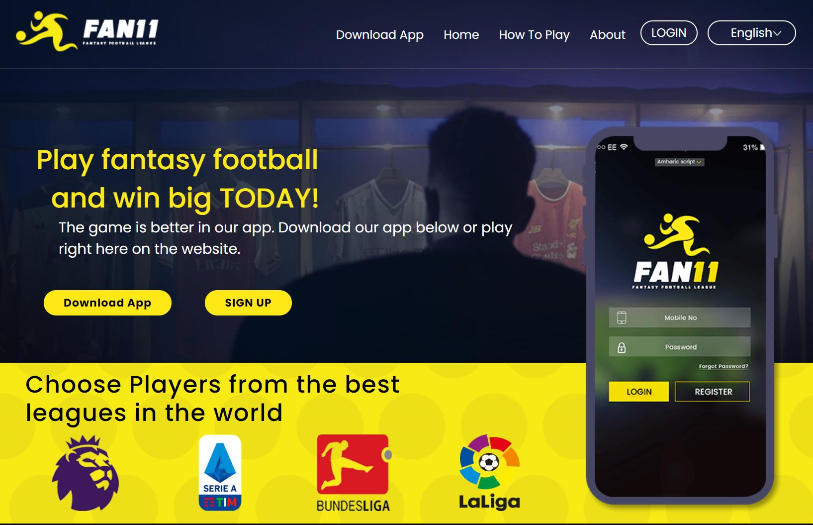 Fan11 Fantasy Football Betting